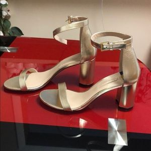 Stuart Weitzman Block heels sandals , new;9.5
